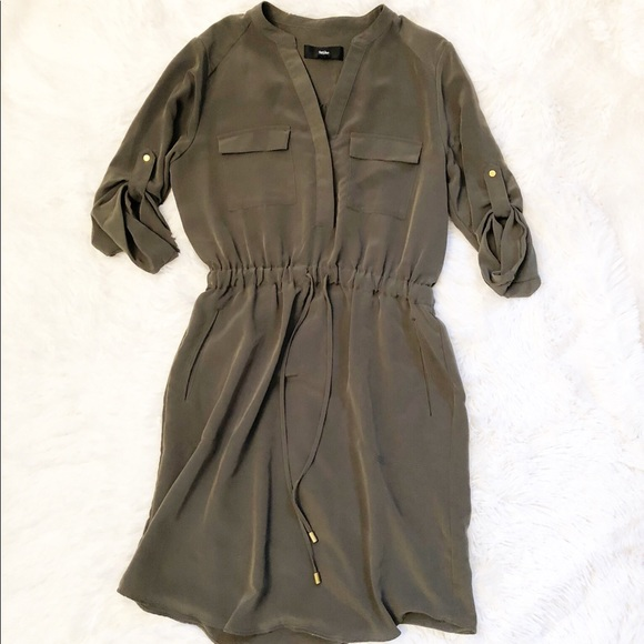Mossimo Supply Co. Dresses & Skirts - Mossimo Long Sleeve Dress with Pockets!